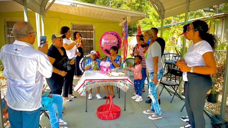 Tampa woman celebrates 103rd birthday