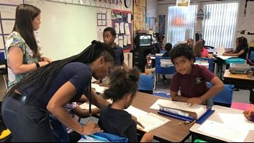 Tampa Heights Elementary Magnet named the 10News School of the Week powered by Duke Energy Florida