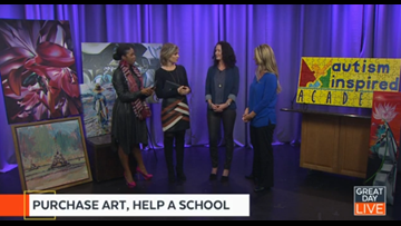 Buy beautiful art, help kids with autism