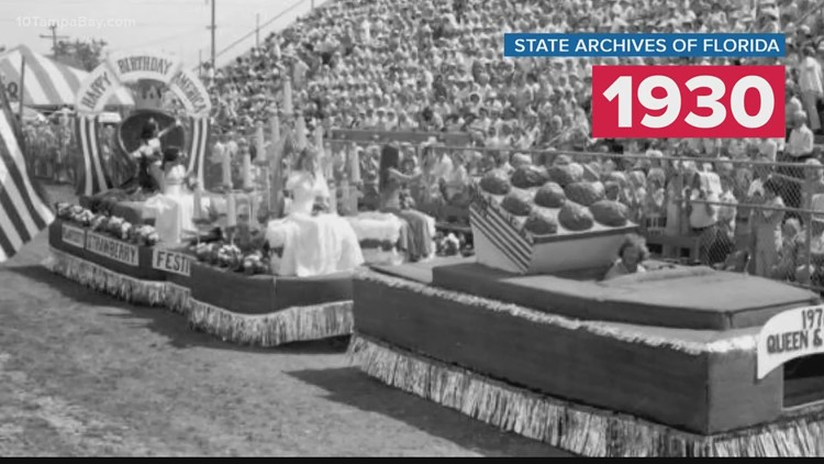 The history of the Florida Strawberry Festival
