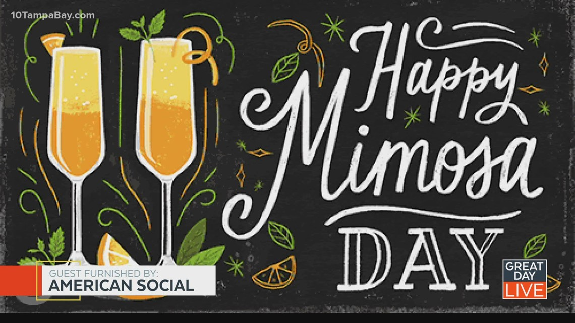 Cheers to National Mimosa Day