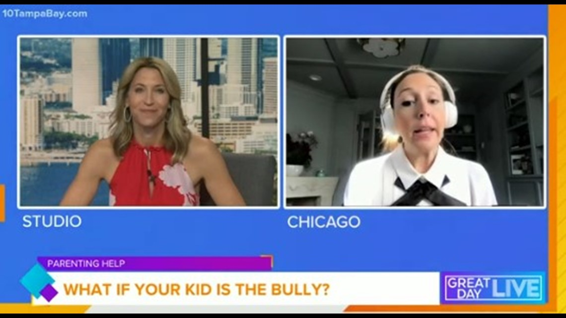What if your kid is the bully?