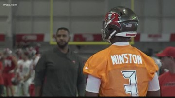 Bucs training camp officially opens