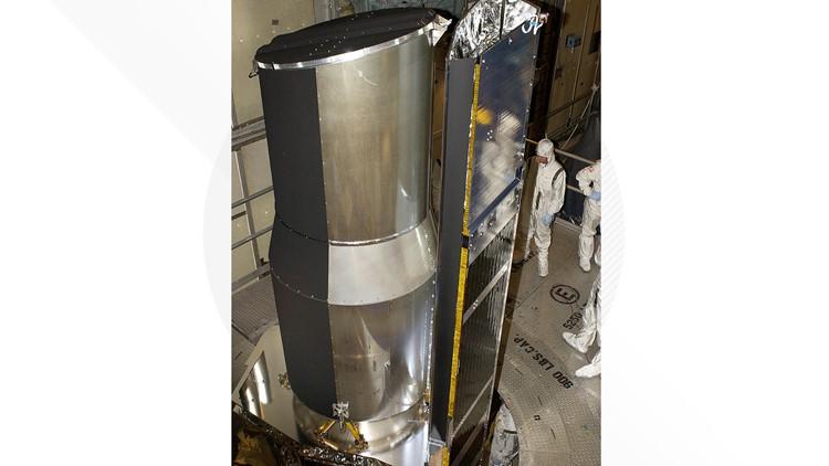 nasa spitzer telescope before launch