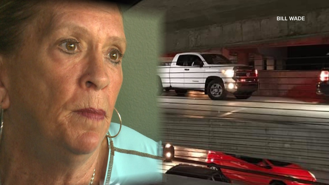 Trapped in a St. Pete parking garage, one woman took matters into her own hands and wound up arrested