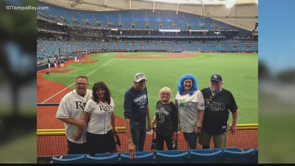 Rays superfan returns to Tropicana Field after COVID kept her out of the stands