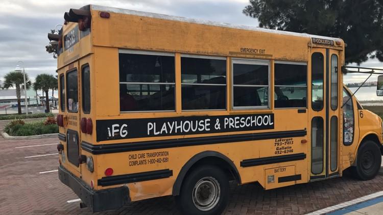 Children found in mini bus