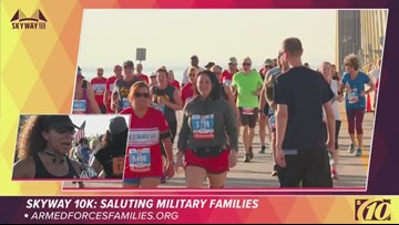 Because of them, we are free: Runner says why she ran in the Skyway 10K | 10News WTSP