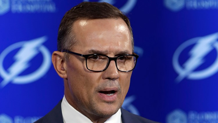 Steve Yzerman reportedly leaving the Lightning, headed back to Detroit Red Wings