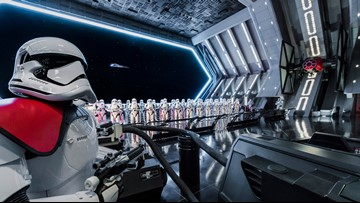 We went inside Star Wars: Rise of the Resistance before it opens. Here's what it's like