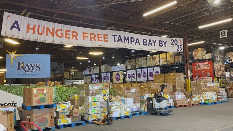 Food insecurity continues to be a problem in the Tampa Bay area