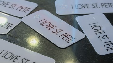 'I Love St. Pete:' How a key tag program is boosting local businesses