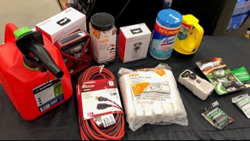 Thursday is the last day to buy hurricane supplies tax-free in Florida