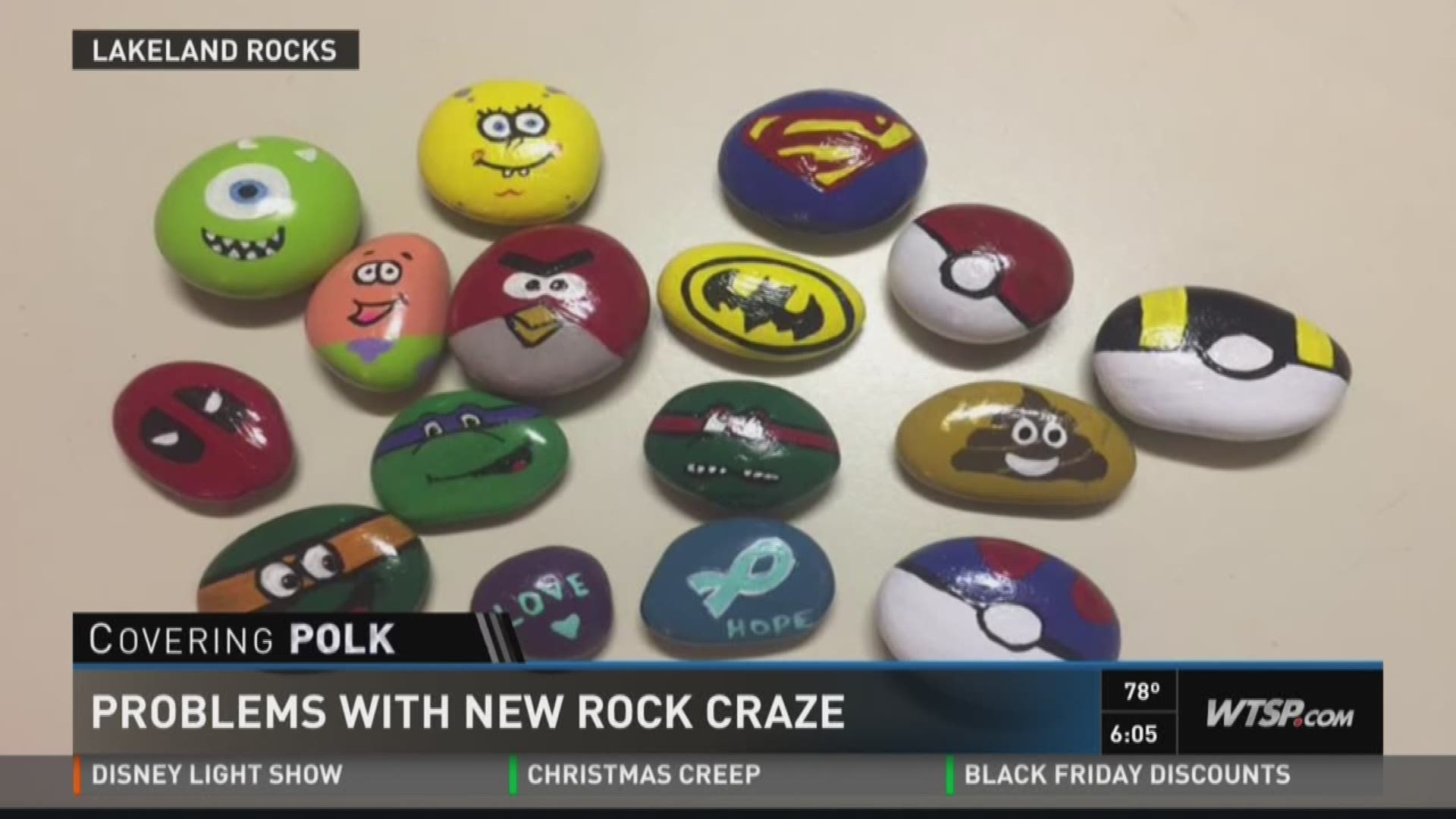 Lakeland Rocks Vandals Told To Cut It Out Wtsp Com