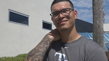 Inked in inspiration: How newborn son helped Anthony Banda's return to mound