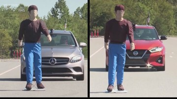 Pedestrian-detecting technology does not work in all cars
