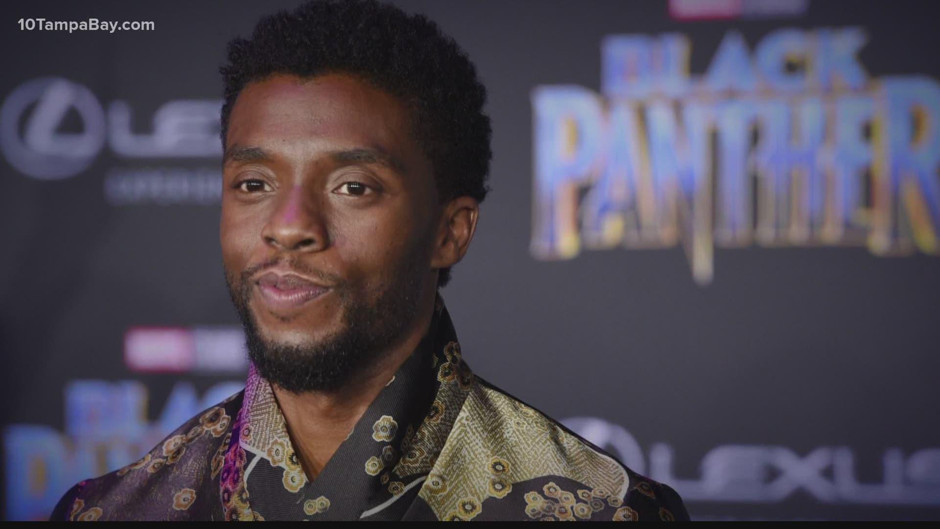 Avengers Stars Mourn Death Of Black Panther Chadwick Boseman Wtsp Com