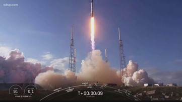 Countdown to blast off: SpaceX set to launch next batch of Starlink satellites