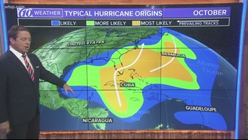 Tracking the Tropics: Keeping a look at 2 tropical disturbances and Hurricane Lorenzo