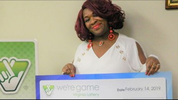 Woman wins the lottery 30 times in one day