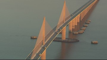 Here's what you can and cannot bring on the bridge for the Skyway 10K