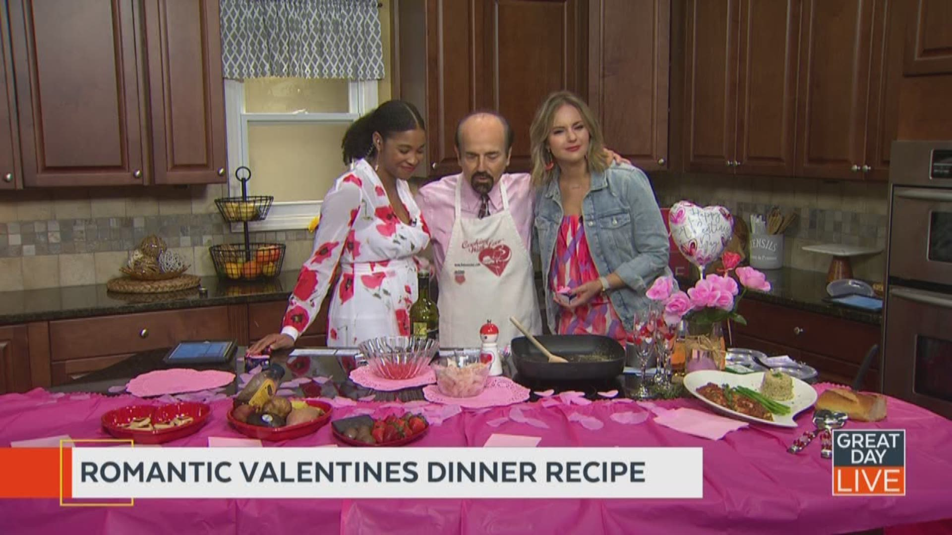 The Love Chef Shares His Valentine S Day Dinner Romantic Food Ideas Wtsp Com