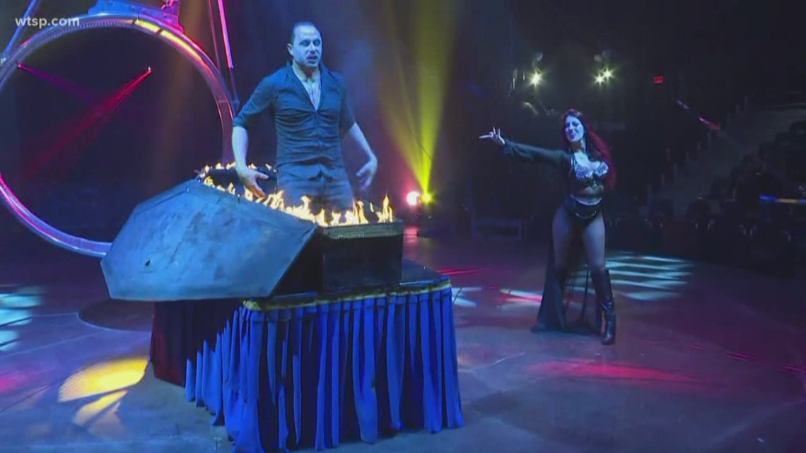 Gas Prices Tampa >> Acrobats, illusionists and stunts: The Paranormal Cirque ...