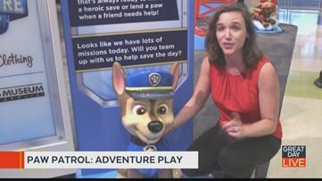 Kids find adventure at new Paw Patrol exhibit