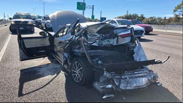 Clearwater man with revoked license faces 14 charges after string of hit-and-run crashes