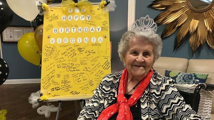 'I feel like I can do anything': Sarasota resident celebrates her 105th birthday