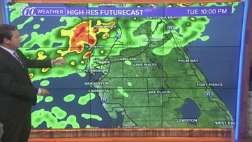 Rain chances increase ahead of our next front
