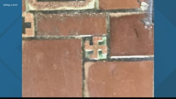 This is why there are swastikas at a local VA hospital
