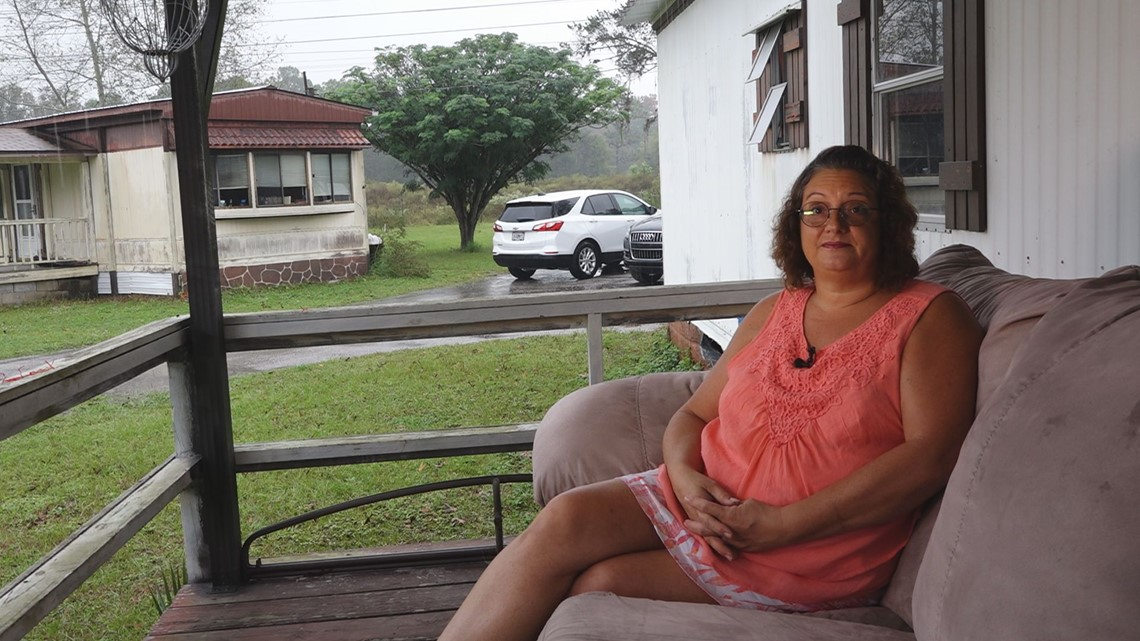 Crystal River grandmother Turns to 10 after painter took her money and didn't do the job