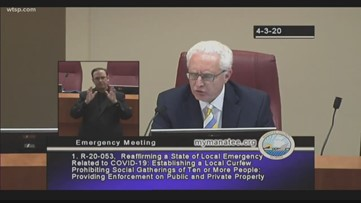 Manatee County Commissioners approve curfew