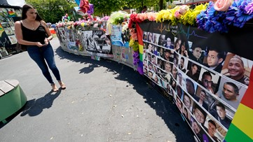 Bells toll 49 times in downtown Orlando to remember those killed at Pulse nightclub shooting