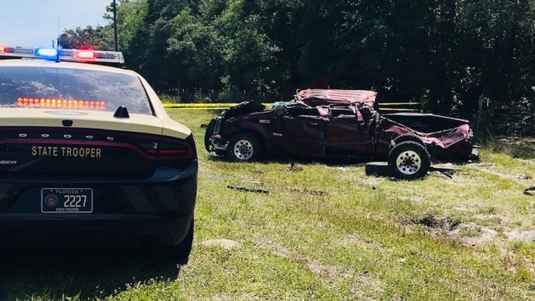 Stolen pickup driver shoots at Florida trooper in wild chase across 3 counties, FHP says
