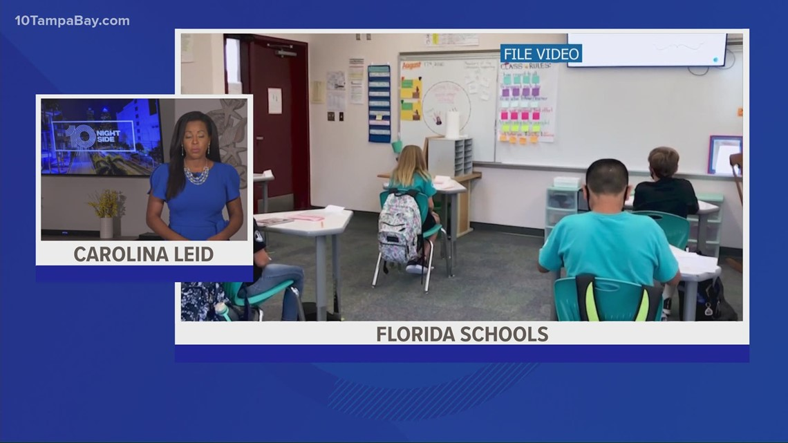 Florida education commissioner asks school districts to make face masks voluntary next year