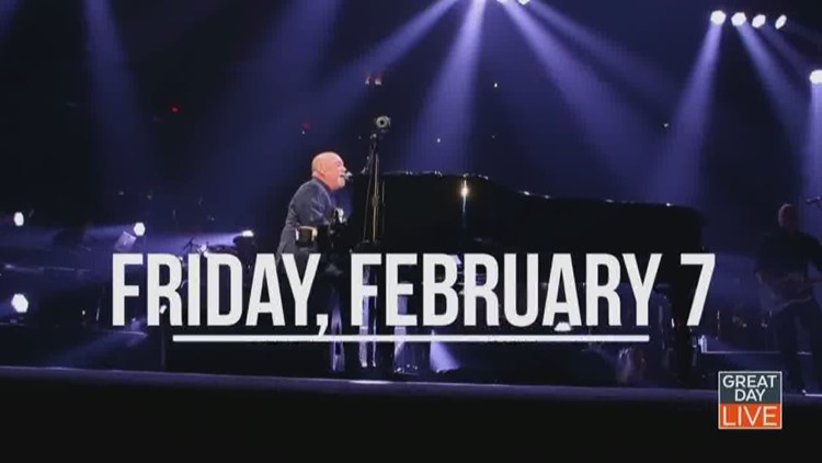 Watch Great Day Live this week for your chance to win Billy Joel tickets!