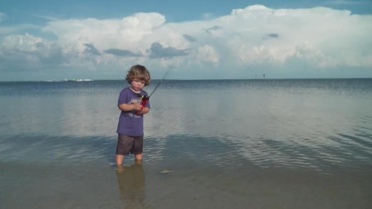 Perfect fishing weather sweeps across Tampa Bay