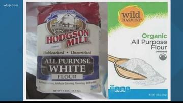 Two brands of flour recalled over E.Coli concernsp
