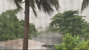 Video captures the inside of Hurricane Dorian in Nassau in the Bahamas