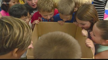Tools for School deliveries greeted with songs and cheers