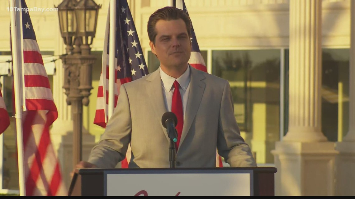Matt Gaetz vows to fight, tries to stay on offensive amid scandal