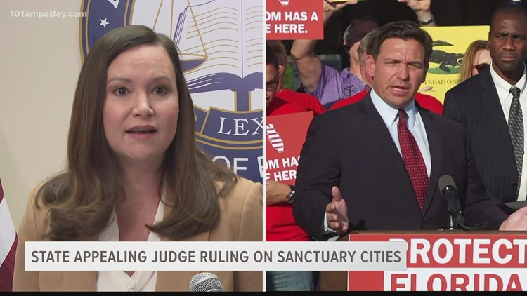 Florida appeals judge's ruling that struck down parts of law banning sanctuary cities