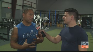 Fitness Fridays: Parallax