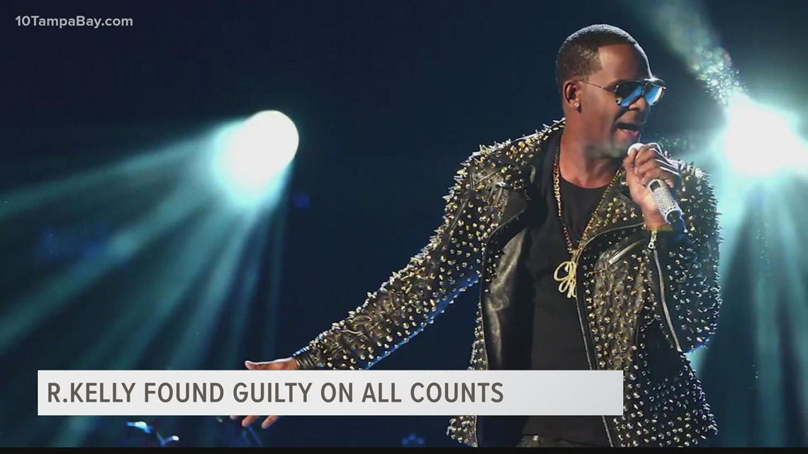 R. Kelly convicted in sex trafficking trial