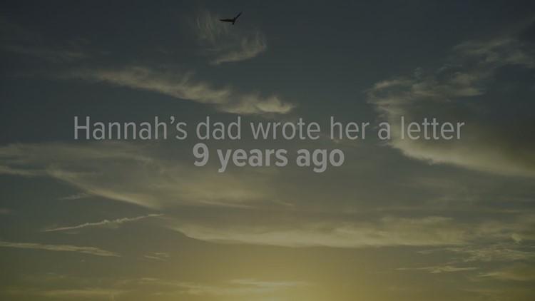 Hannah Jines' father wrote a letter: 'Dear princess,' it began. He never delivered it.
