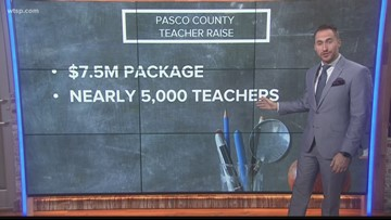 Pasco County teachers getting a raise