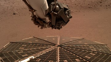 Mars InSight rover got stuck digging a hole. NASA told it to hit itself with a shovel
