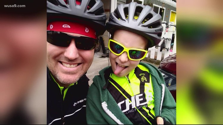 Father and son bike across America